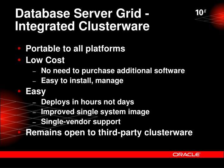 Database Server Grid -