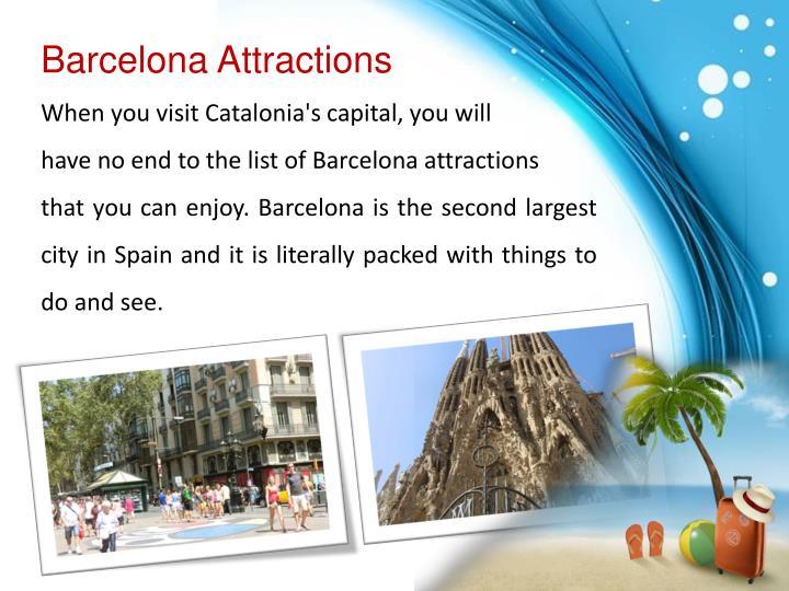 Barcelona Attractions