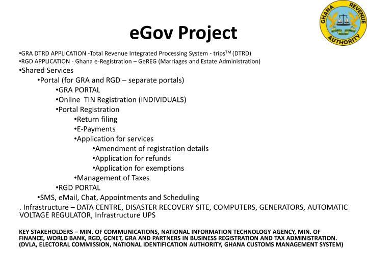 Egov project