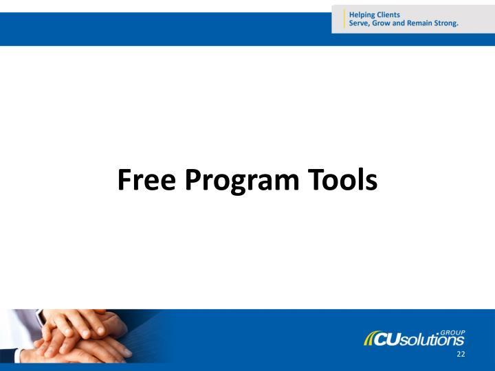 Free Program Tools