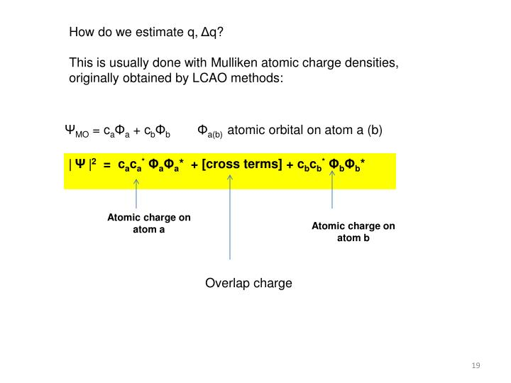 How do we estimate q,