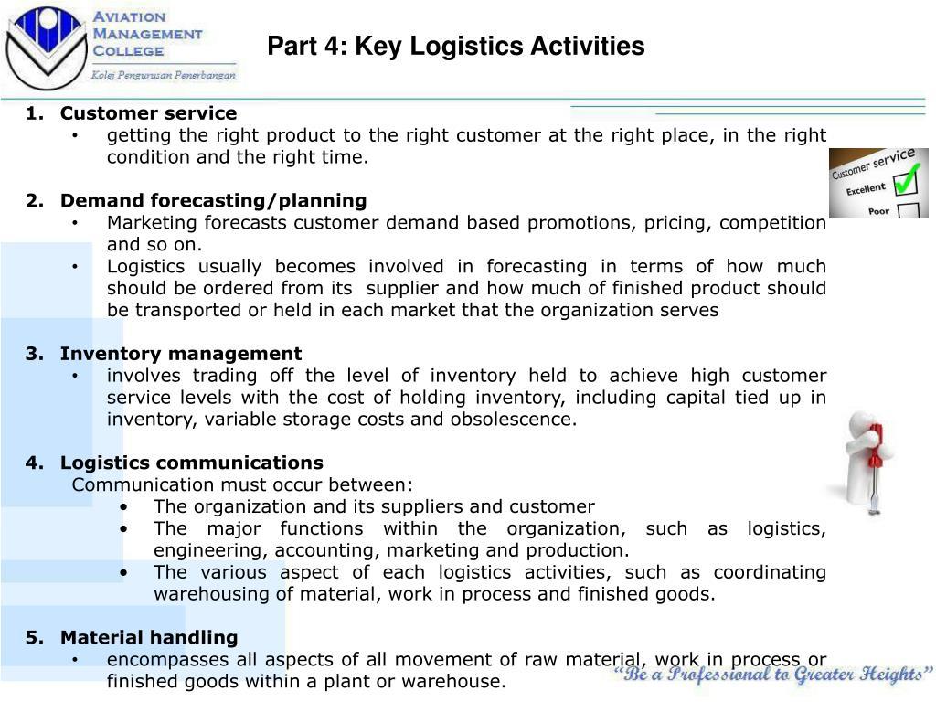 PPT - Fundamentals of Logistics Management PowerPoint