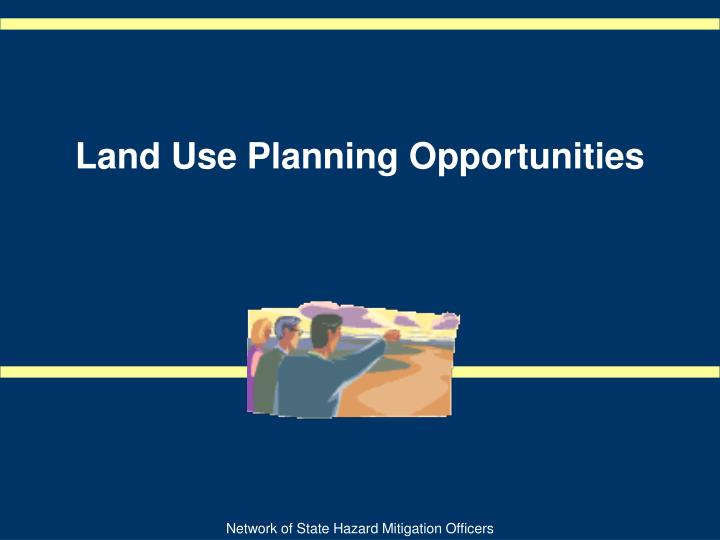 land use planning opportunities n.