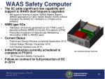 waas safety computer