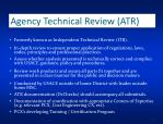 agency technical review atr