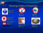planning centers of expertise