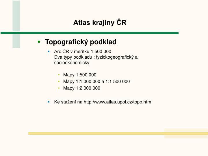 Atlas krajiny ČR
