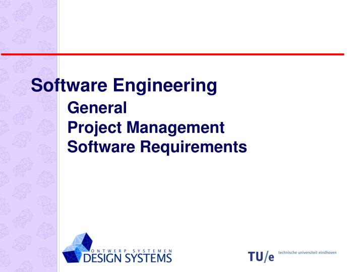 software engineering general project management software requirements n.