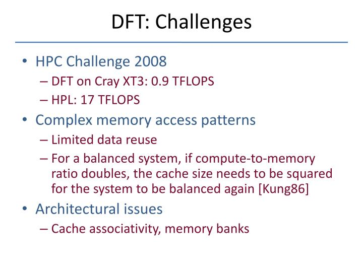 challenges in benchmarking computer systems Hpc challenge benchmarks 3 tem form in the literature, but not at function- and com-ponent-level granularity other portions of the suite, such.