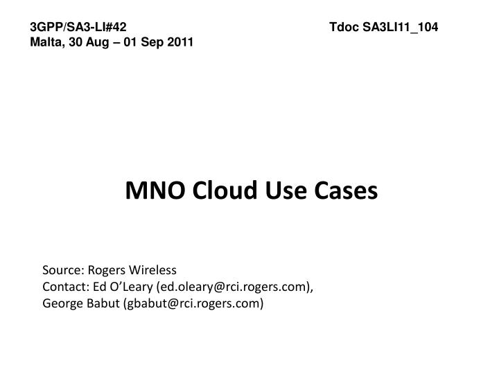 mno cloud use cases n.