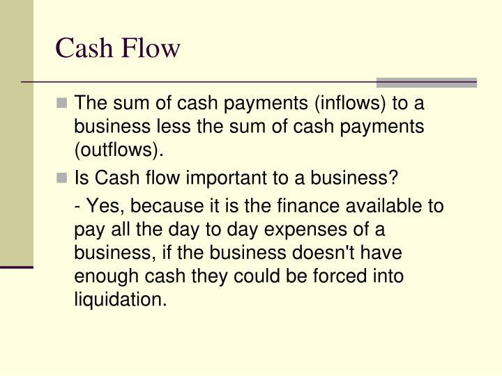 Cash flow1