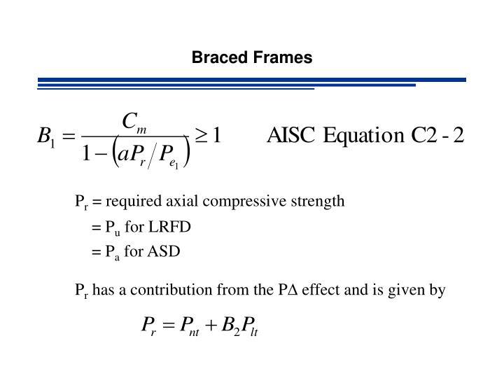 Braced Frames