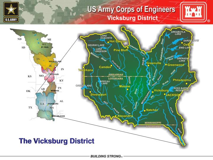 The Vicksburg District