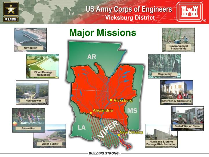 Major Missions