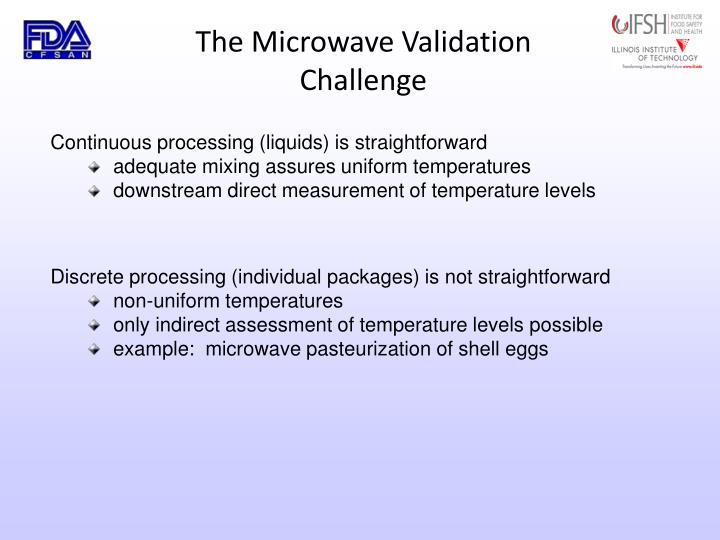 The Microwave Validation