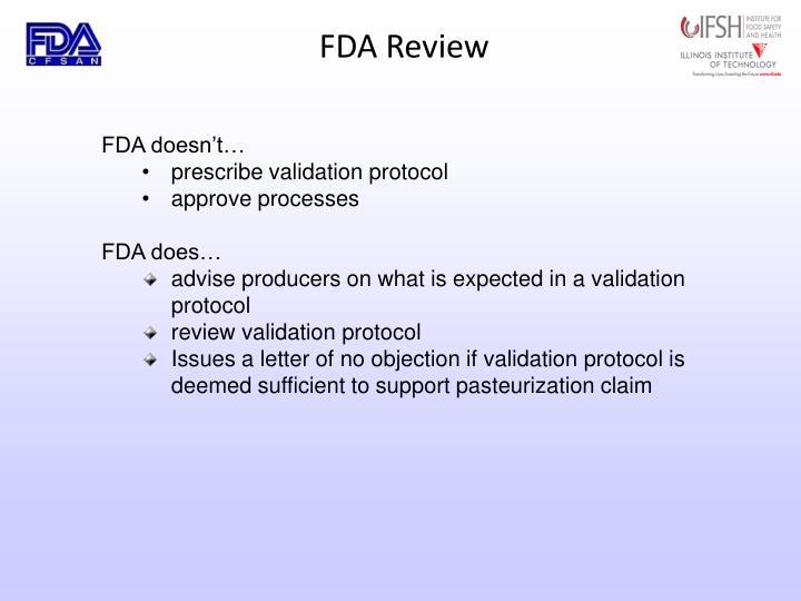 FDA Review