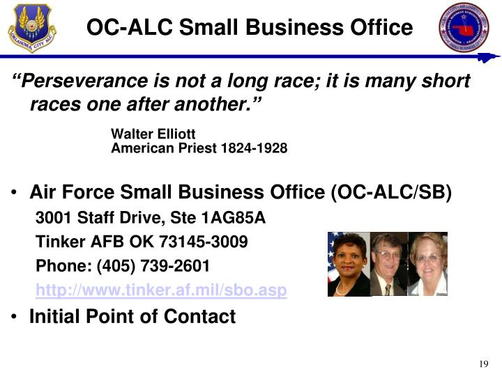 OC-ALC Small Business Office