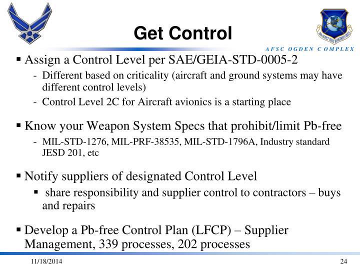 Get Control