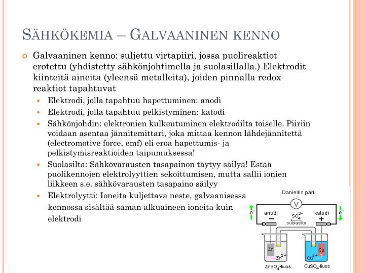 Galvaaninen Kenno