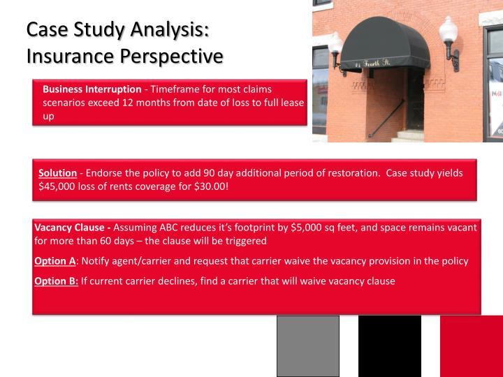 Case Study Analysis: