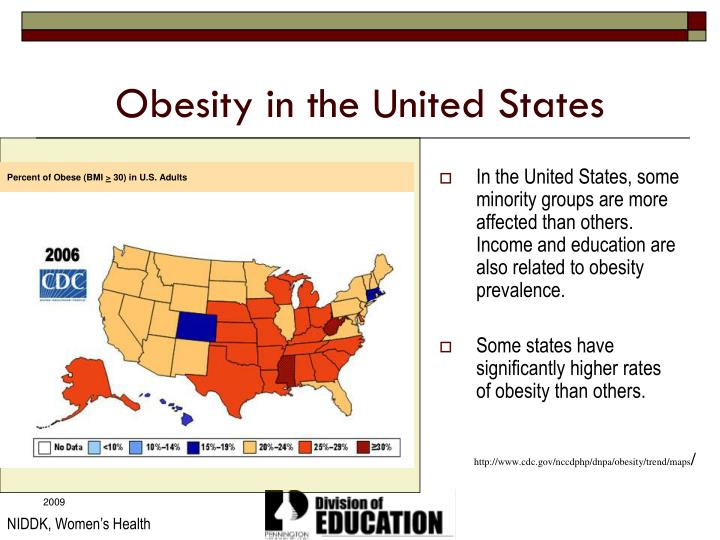 effects of obesity in the united