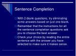 sentence completion1