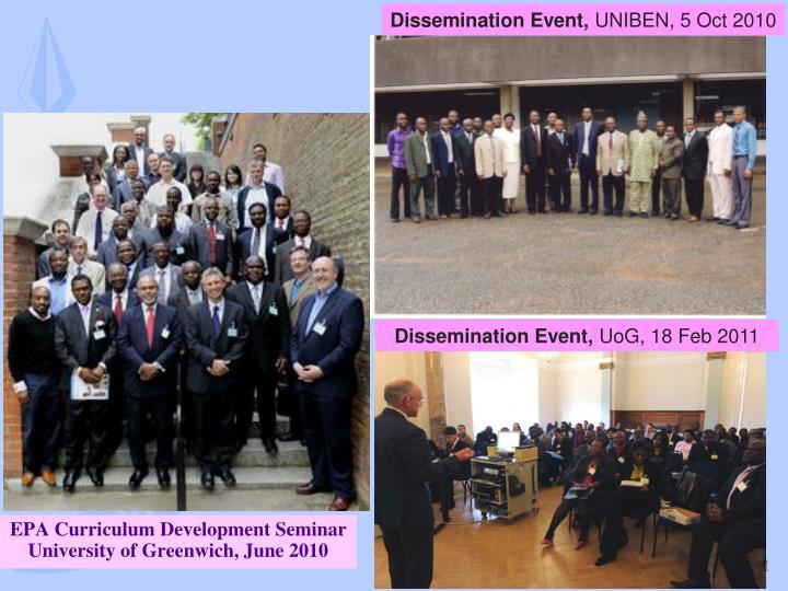 Dissemination Event,