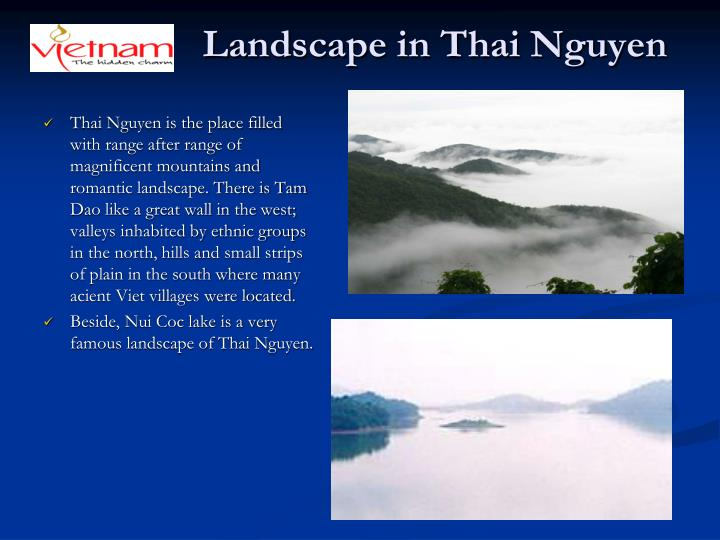 Landscape in Thai Nguyen