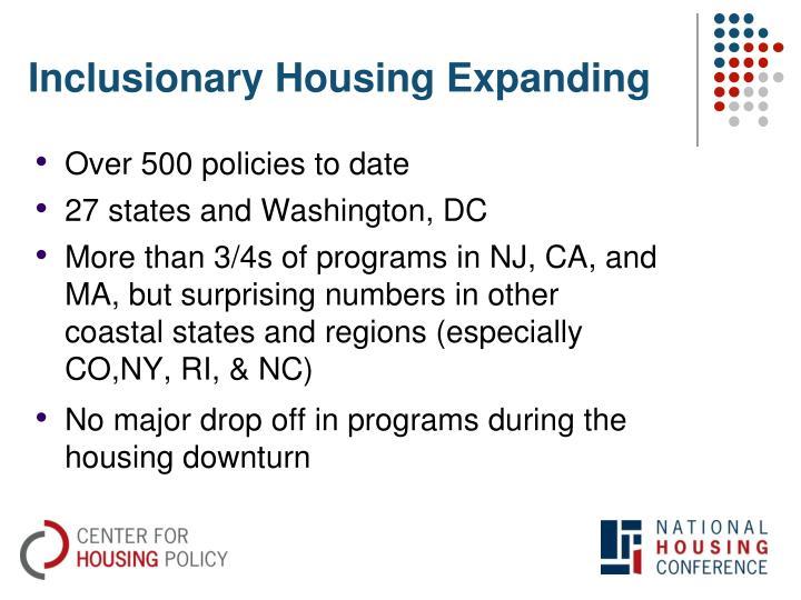 Inclusionary Housing Expanding