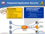 integrated application security