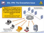 ssl vpn the everywhere issue