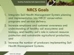 nrcs goals