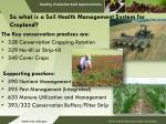 so what is a soil health management system for cropland