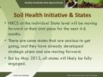 soil health initiative states