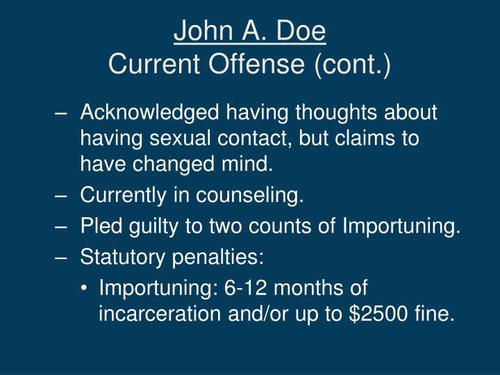 John A. Doe