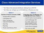 cisco advanced integration services