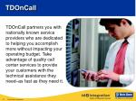 tdoncall