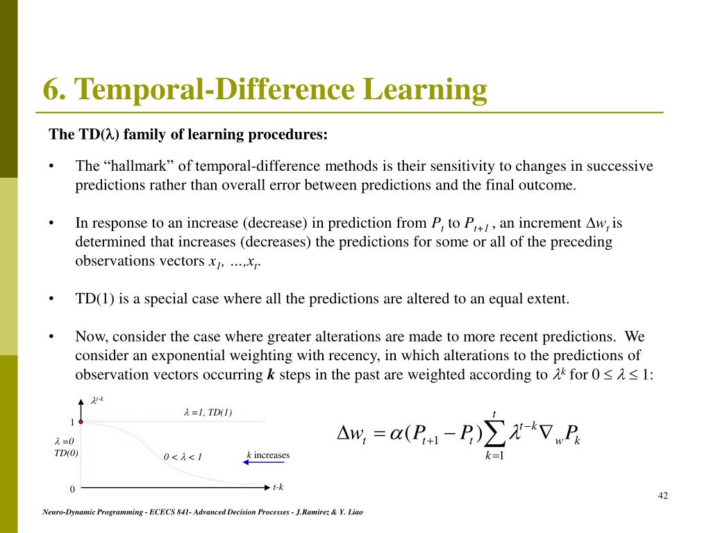 PPT - Neuro-Dynamic Programming PowerPoint Presentation - ID:6759327