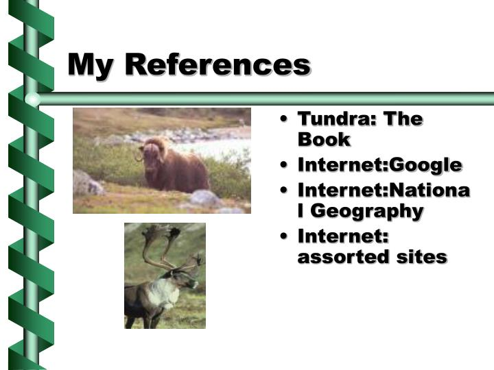 My References