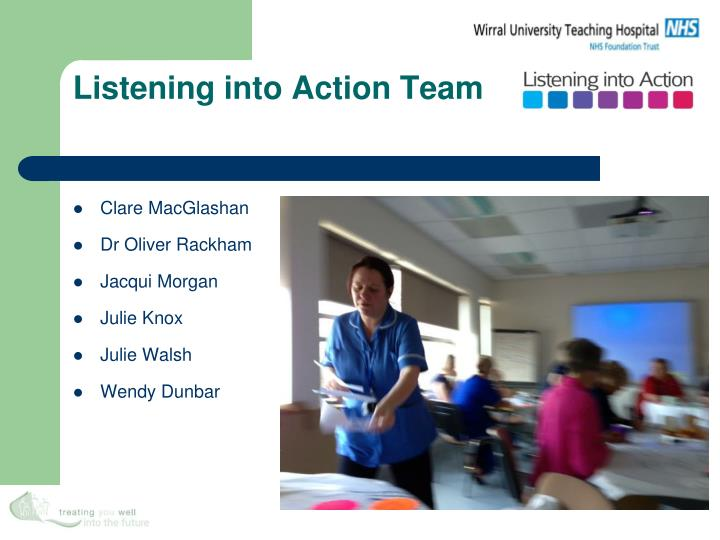 listening into action team n.