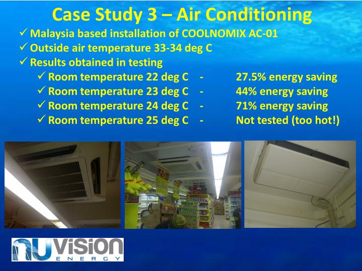 Case Study 3 – Air Conditioning