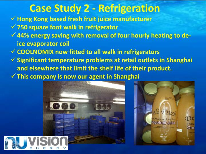 Case Study 2 - Refrigeration