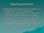 teaching grammars