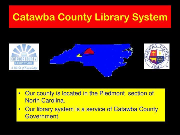 Catawba county library system
