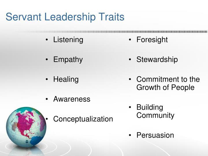 Servant Leadership Traits