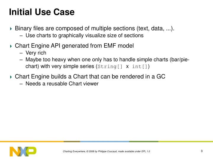 Initial use case