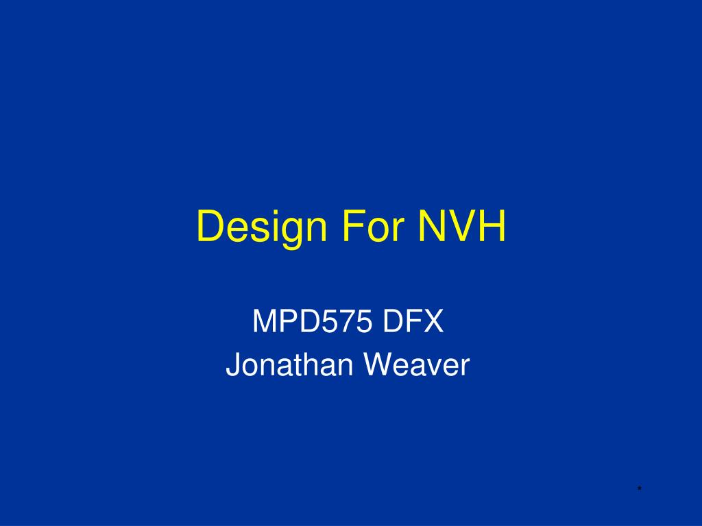 Ppt Design For Nvh Powerpoint Presentation Id6760398 Ressource Link To Virtual Electric Circuit Construction Http Phet Slide1 N