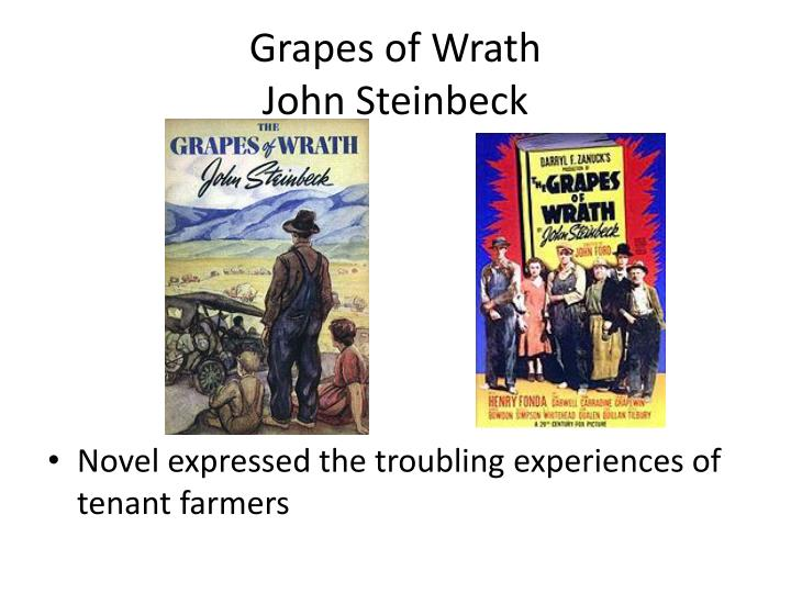 an overview of the novel the grapes of wrath by john steinbeck