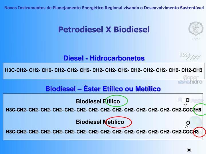 Diesel - Hidrocarbonetos