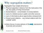 why segregation matters